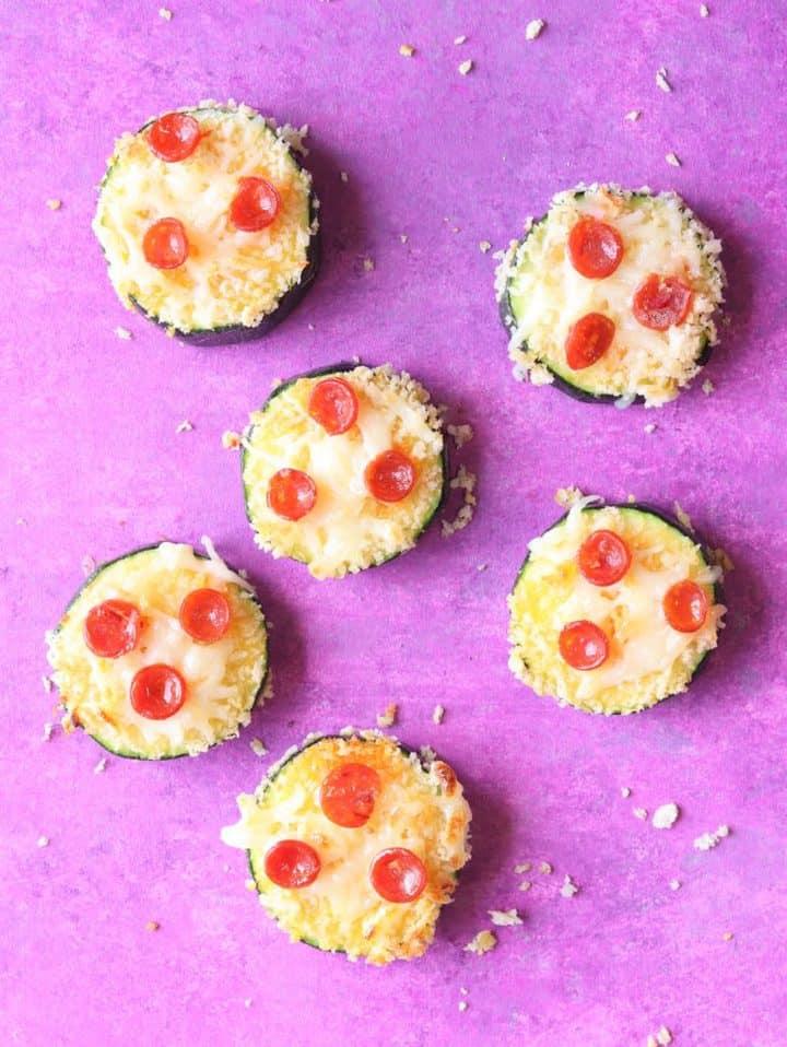 Pizza Zucchini Bites