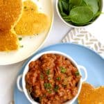 kid friendly chili with guiltless heart shaped bread