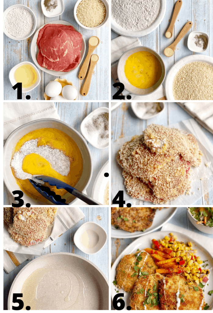 Beef Milanesa How to