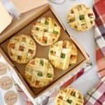open box of chicken pot pies