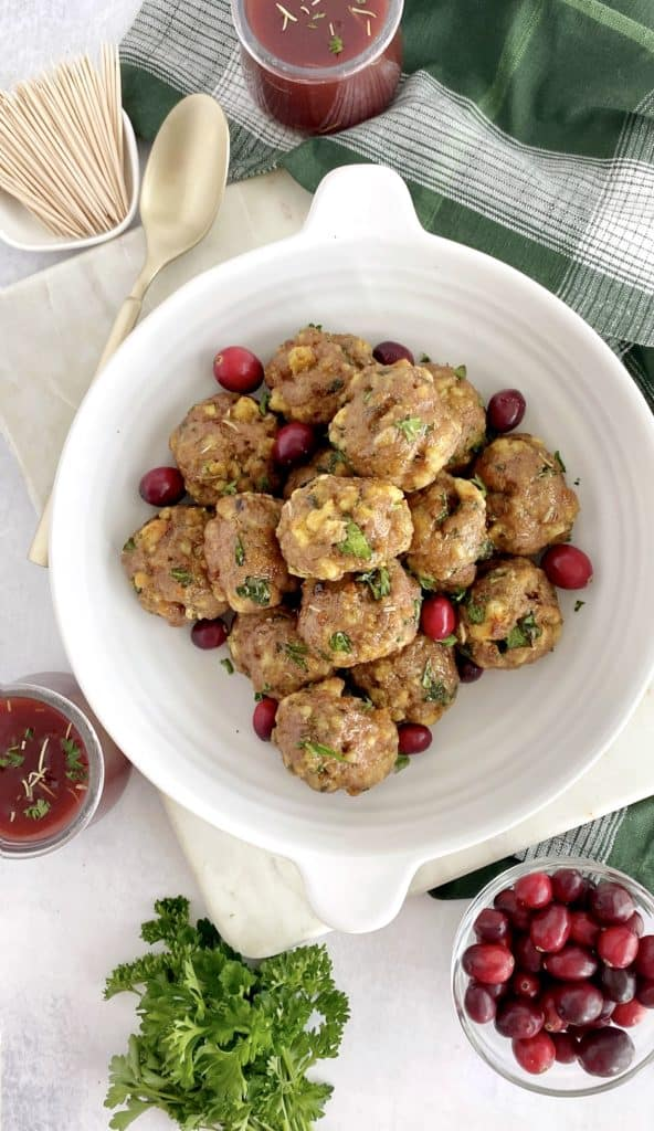 bare meatballs without cranberry