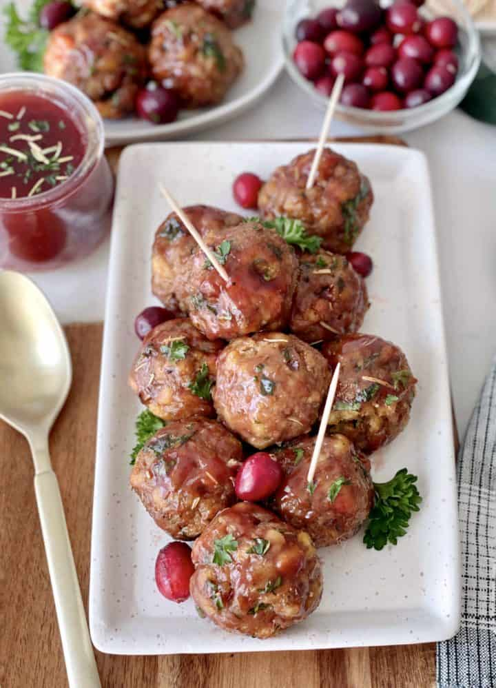 over the top meatballs
