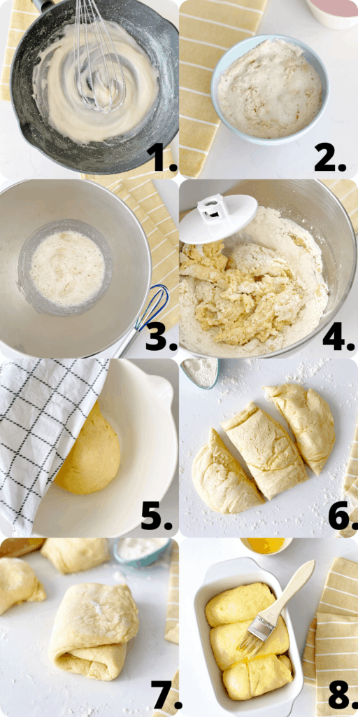 how to make milk bread diagram