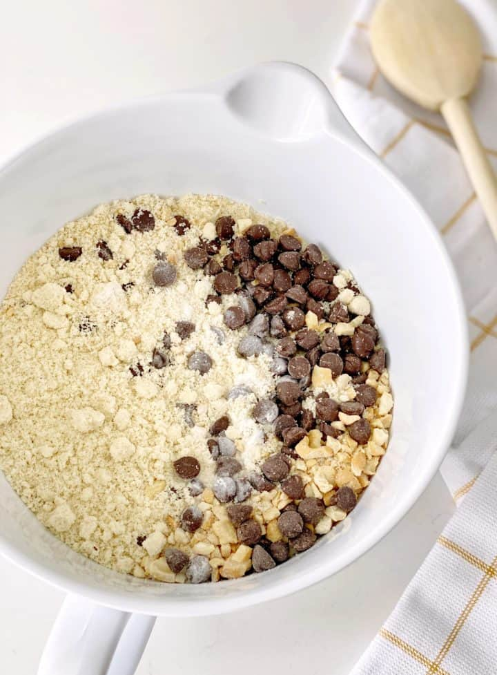 bowl of dry mixtures