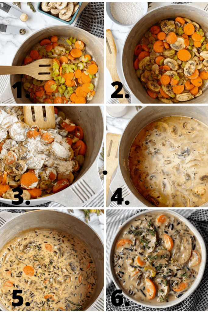 how to cook wild rice soup step by step
