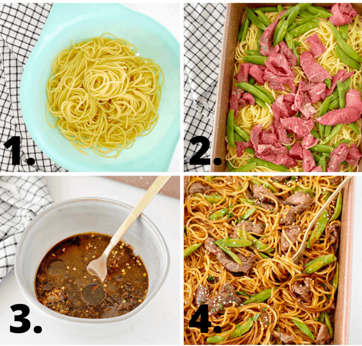 how to make asian noodles diagram