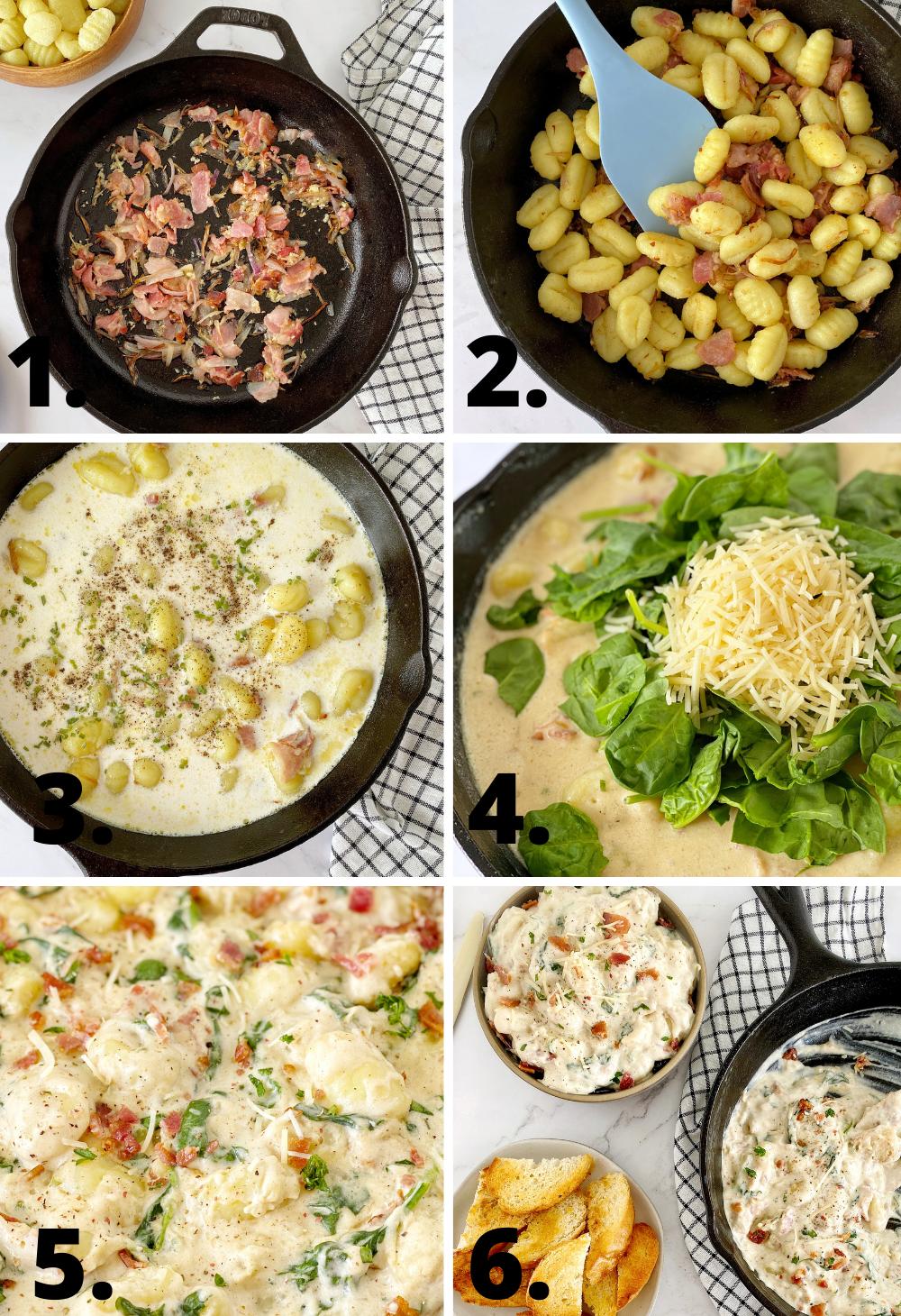 how to diagram to make potato gnocchi