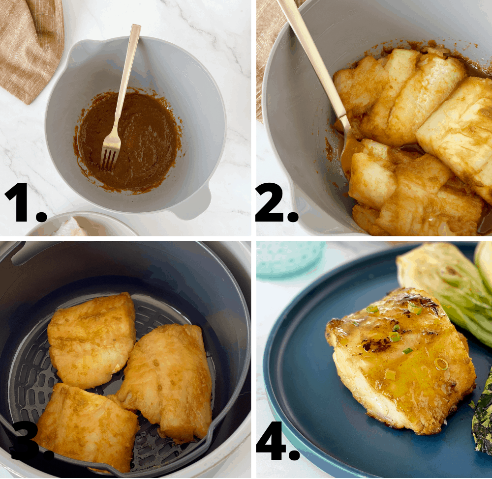 how to make air fryer cod