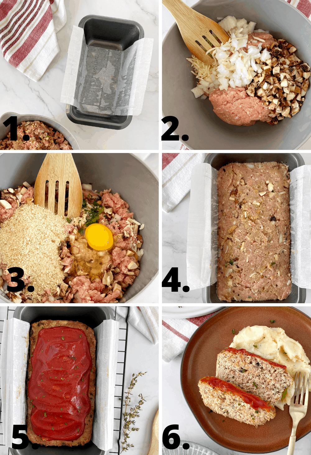 how to make veggie meatloaf