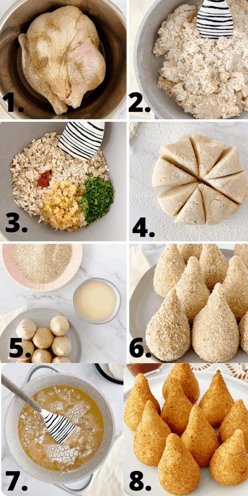 how to make coxinha